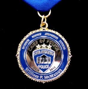 Fiesta medals, SAPD Fiesta medal