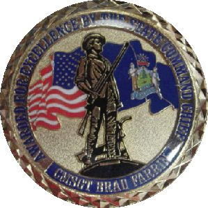 ANG Command Chief coin