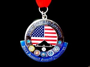 JBSA medallion, annual awards medallion