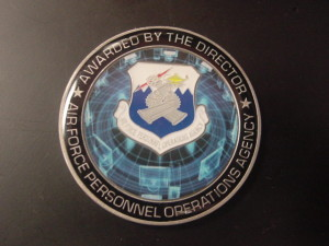 challenge coin_USAF_AFPOA