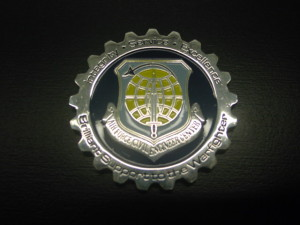 challenge coin_USAF_Civil Engineering USAF coin