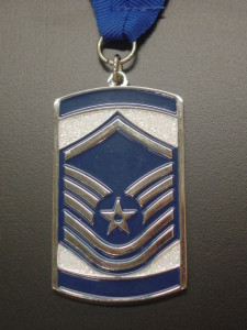 SNCO medal, MSgt medal, induction medal