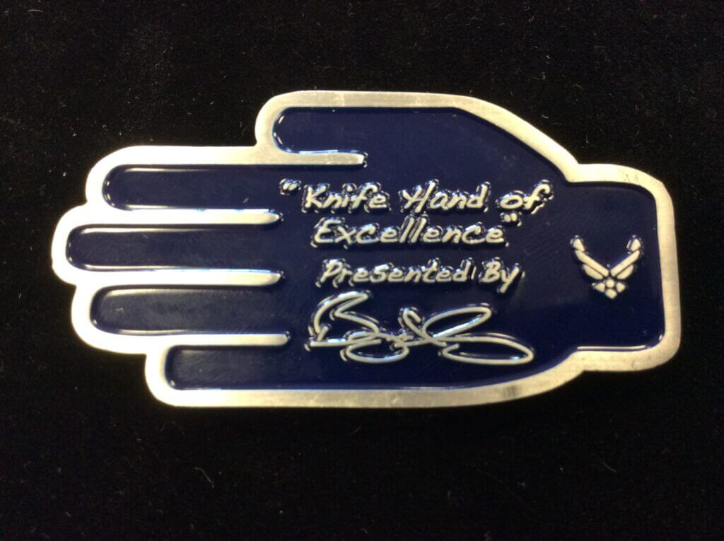 Roy_CMSgt Bryant_USAF Chiefs coin_front