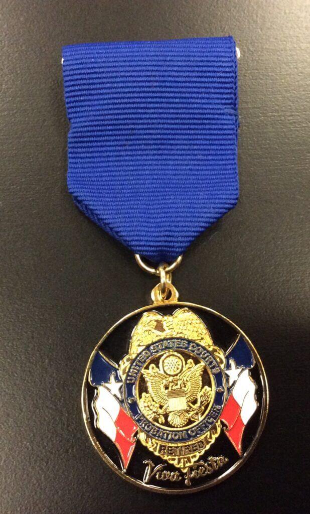 Fiesta medal_Isabel Pruneda_probation officer_2016
