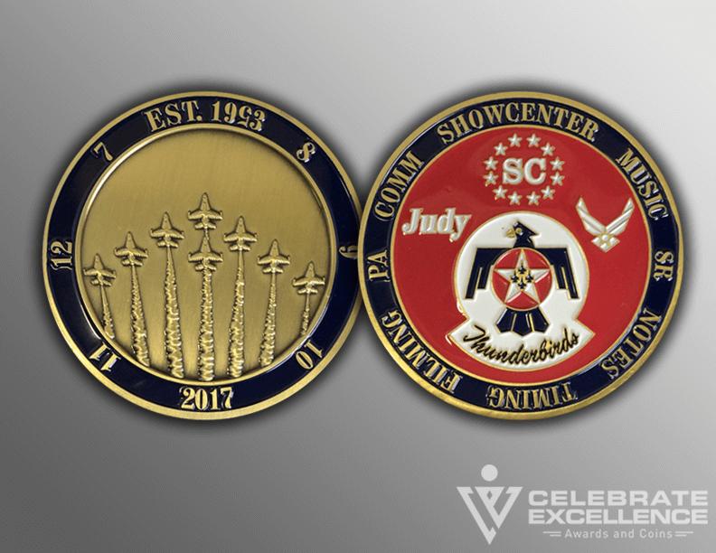 brass coin_Thunderbirds