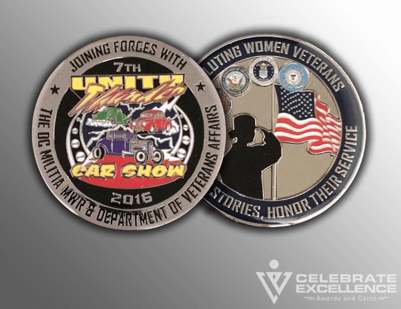 custom challenge coin_flat edging