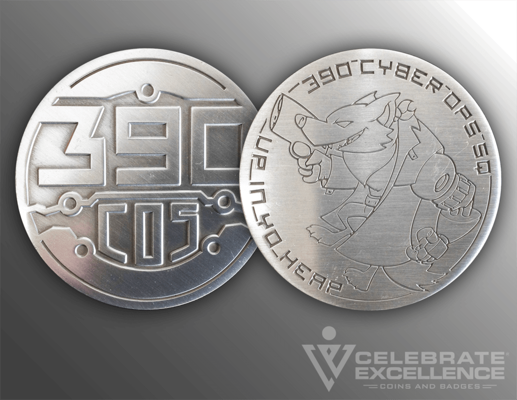 Celebrate Excellence 390 COS Challenge Coin