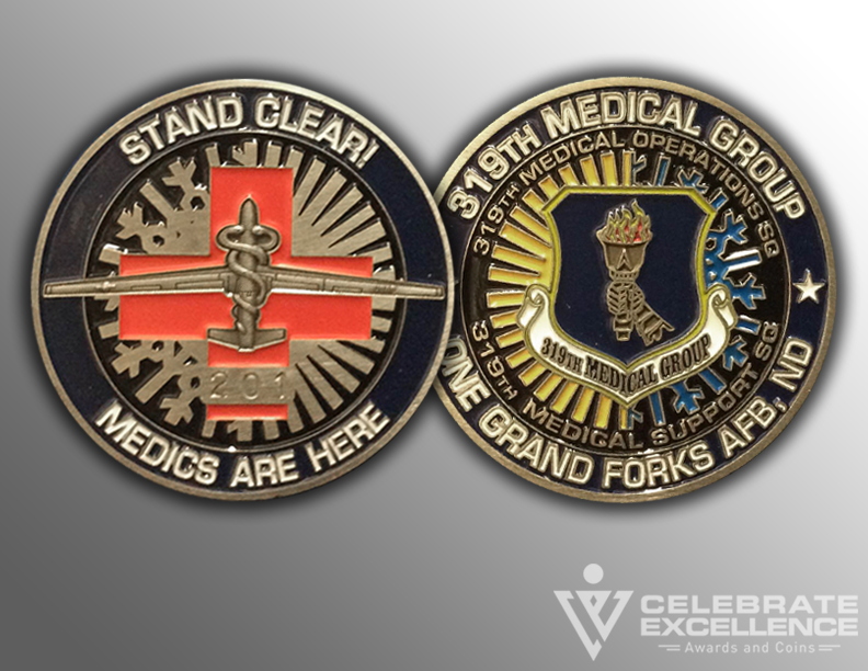 AIR FORCE_CHALLANGE COIN_319th_medical_group