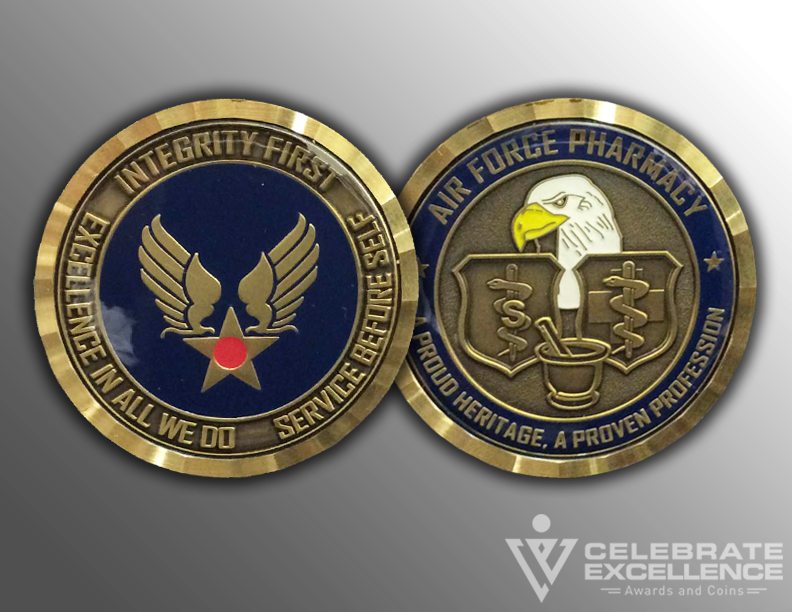 Air Force_Challenge Coin_Air Force Pharmacy