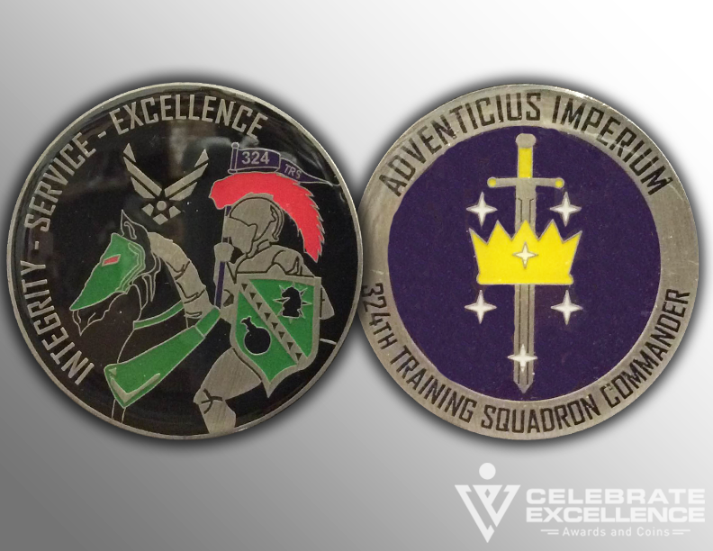 Air Force_Challenge Coins_324TRS_