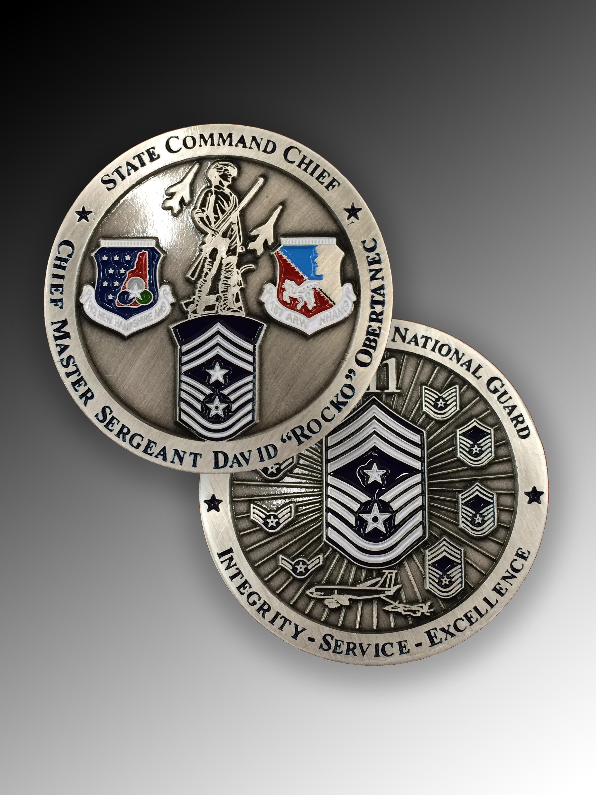 NH ANG_Command Chief coin