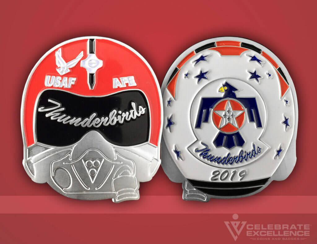 Celebrate Excellence USAF Thunderbirds AFE Challenge Coin