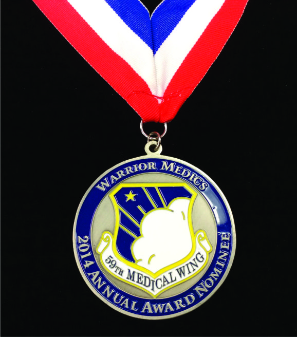 USAF_59th Medical Wing_Squadron_Medallion_challenge coin