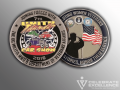custom challenge coin_flat edging