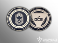 Air Force_DCS_Challenge Coin_Defense Consulting Services_
