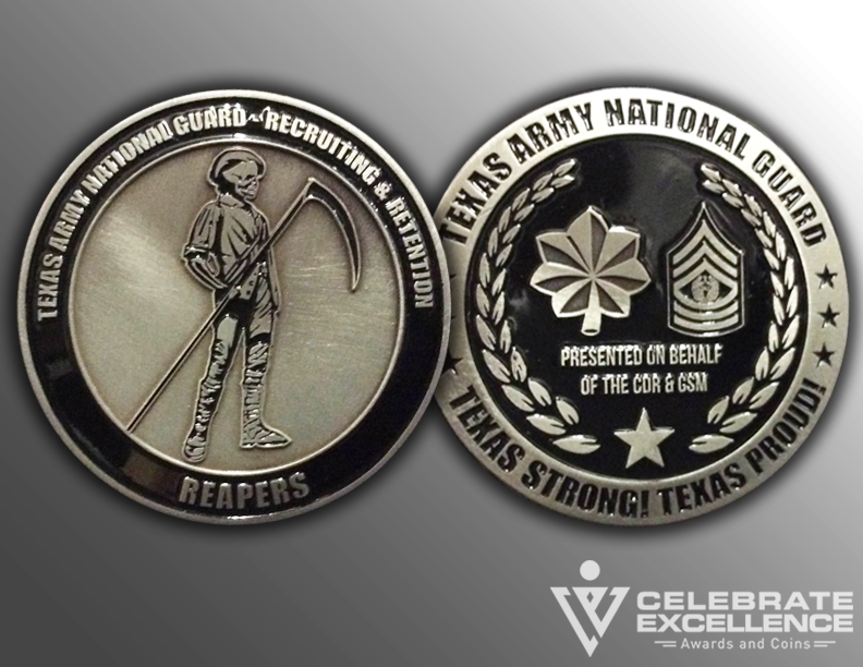 Texas Army National Guard_Challenge Coin