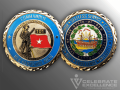 Celebrate Excellence New Hampshire ARNG Challenge Coin