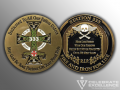Fire & Iron_Challenge Coin_Station 333