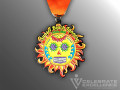 Celebrate Excellence Sunset Beach Tanning Fiesta Medal