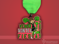 Celebrate Excellence Venom Vortex Vengeance Cheer Fiesta Medal