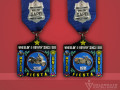 Celebrate Excellence SAPD Motorcycle Unit Fiesta Medal