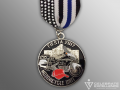 SAPD Motorcycle Unit Fiesta Medal