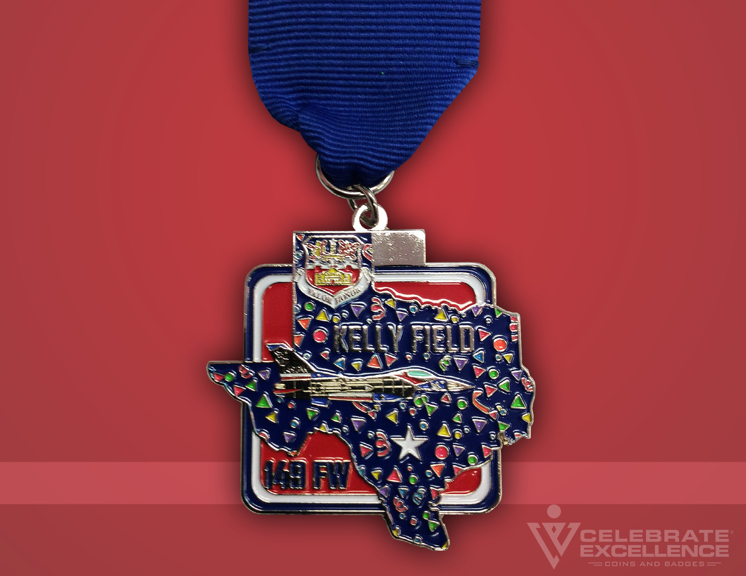 Celebrate Excellence 149 FW Fiesta Medal