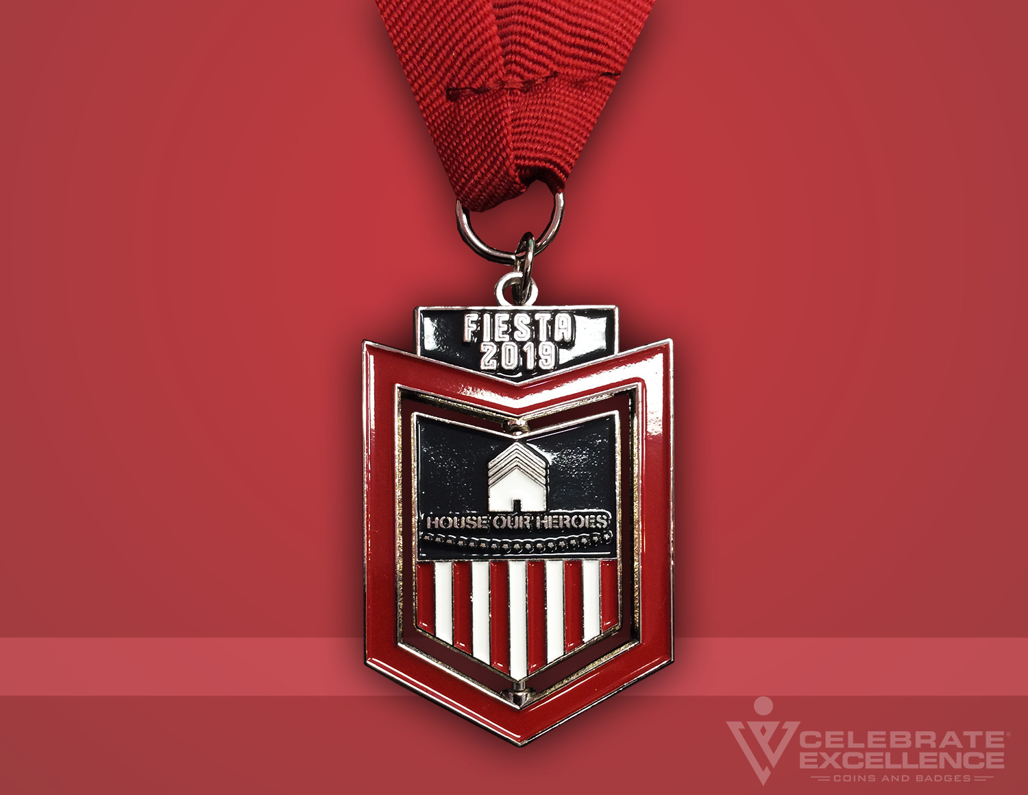 House Our Heroes Medallion