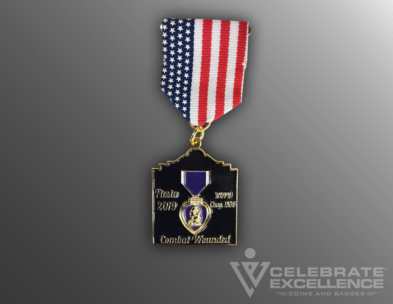 Purple Heart Fiesta Medal 2019
