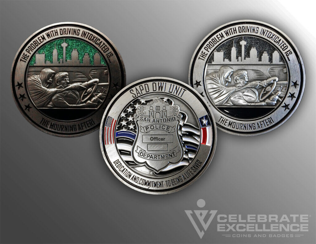 Celebrate Excellence SAPD Intel Southwest Texas Fusion Center Coin Showcase
