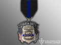 Back the Blue SAPD Fiesta Medal