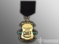 SAPD Chief of Police McManus Fiesta Medal