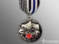 SAPD Motorcycle Unit Fiesta Medal
