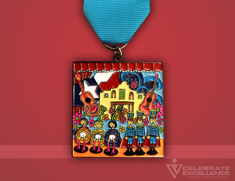 Celebrate Excellence NISD Fiesta Medal