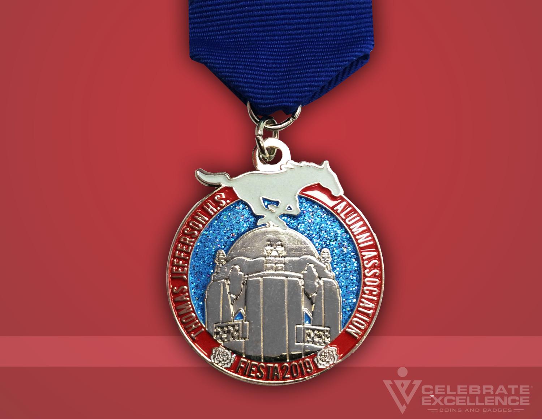 Celebrate Excellence Thomas Jefferson Alumni Fiesta Medal