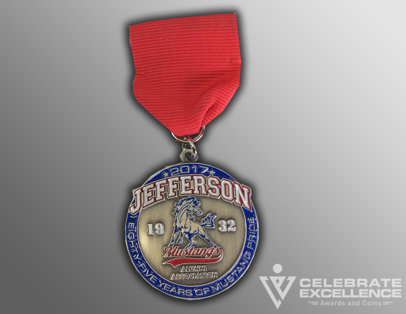School Fiesta Medal