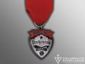 crocketteers Soccer Team Fiesta Medal