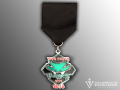 Venom Cheer Sports Fiesta medal