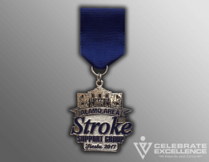 Celebrate Excellence Stroke Fiesta Metal | San Antonio Texas