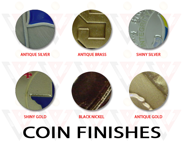 coin finishes