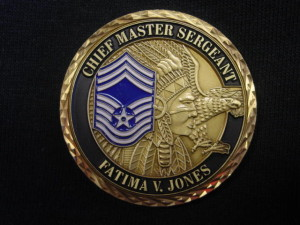 Chiefs challenge coin