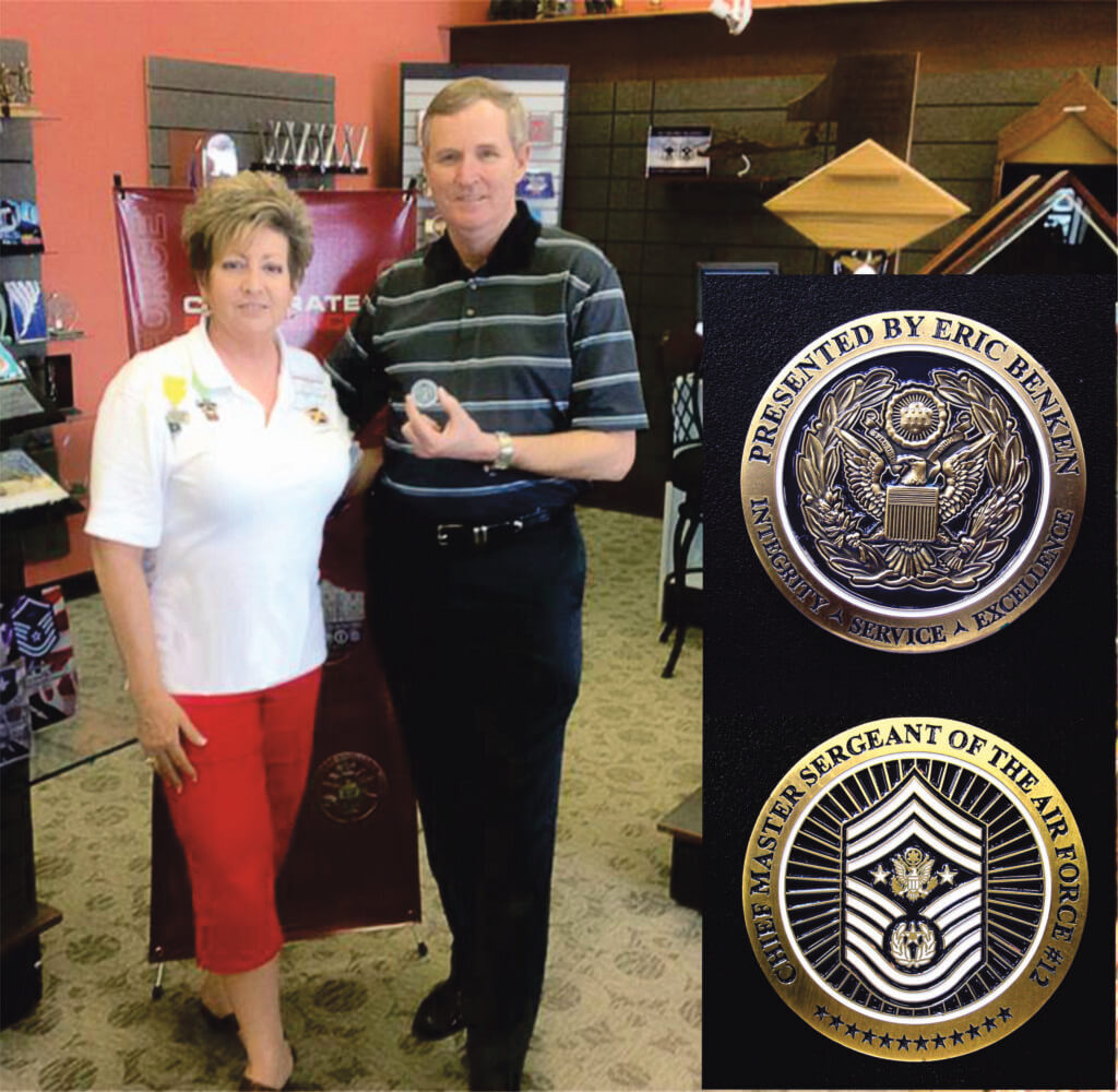 Benken_CMSAF 12_in showroom with coin