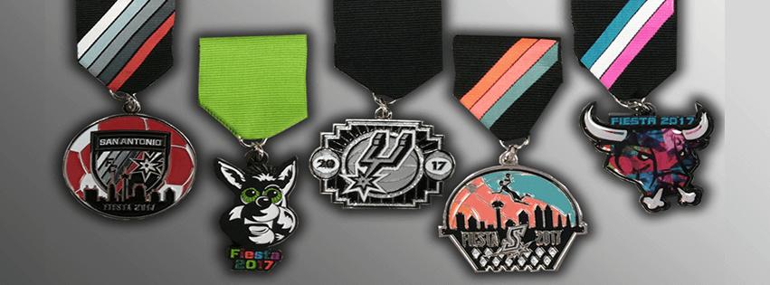 2017 Spurs medals montage
