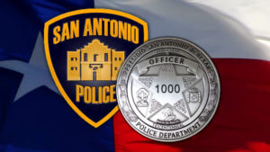 San Antonio Police Department Badge And Patch