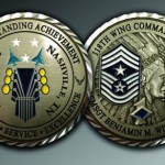 Celebrate Excellence CMSgt Benjamin Williams Challenge Coins | San Antonio Texas