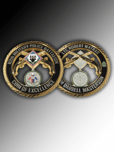 Celebrate Excellence Tennessee Army National Guard Challenge Coins | San Antonio Texas