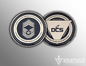 Celebrate Excellence DCS Challenge Coins | San Antonio Texas
