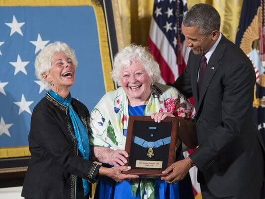 Shemin family_Medal of Honor ceremony