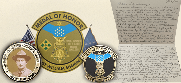 Shemin_Medal of Honor_letter