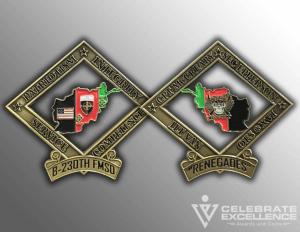 Celebrate Excellence Army Challenge Coins | San Antonio Texas
